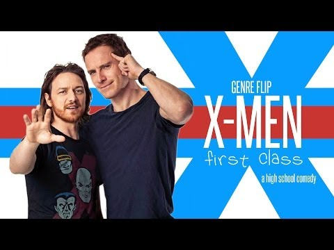 x-men first class high school comedy