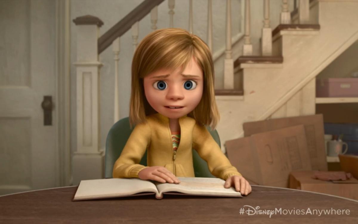 pixar inside out footage