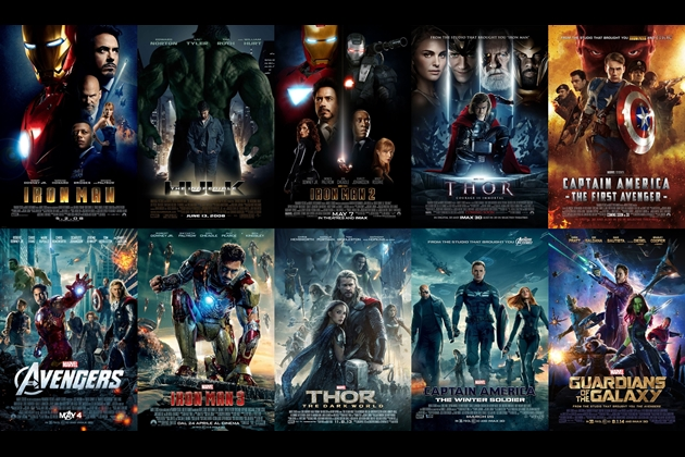 list of every marvel movie