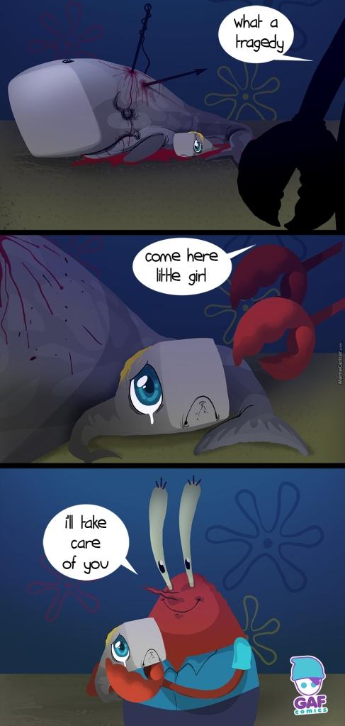 Mother of pearl spongebob