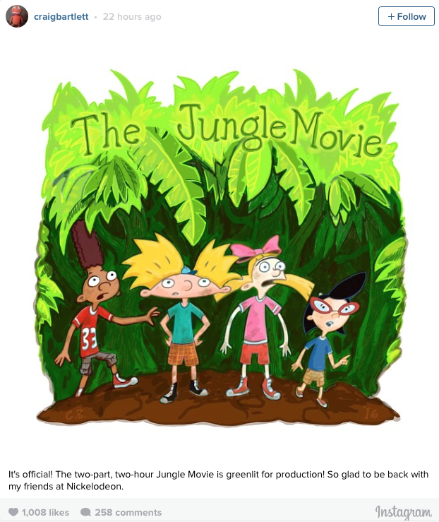 hey arnold jungle movie