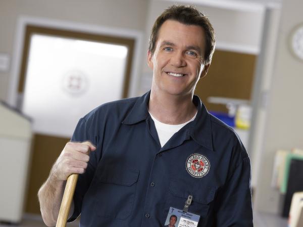 janitor scrubs name