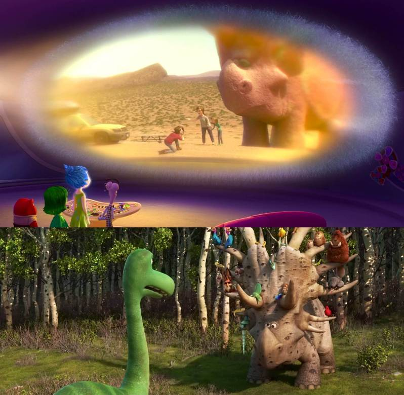 Inside Out 2015 Film: The Pixar Theory, Part 3: 'The Good Dinosaur'