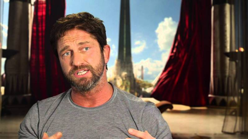 No More Questions: Gerard Butler from 'Gods of Egypt ... Gerard Butler Interview