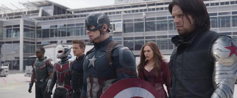 review captain america civil war